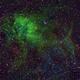 Lion Nebula Sh2-132 HaSHO,                                Pam Whitfield