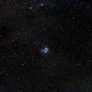 Messier 45 Pleiades - wide field,                                AC1000