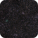 Comet C 2017 T2 PANSTARRS approaching the Double Cluster,                                Nils Langner