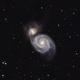 Whirlpool Galaxy (M51),                                patpolk