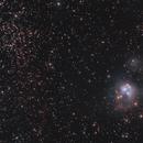 NGC7129,                                helios