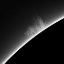 Massive Sun Prominence Lingering Around,                    Chuck's Astrophot...