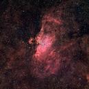 The eagle (M16) Nebula in HaLRGB,                                David Nguyen
