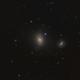 Messier 85 and NGC 4394,                                Madratter