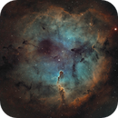 IC1396 Ha second light,                                John Favalessa