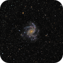 ngc6946 (Fireworks galaxy) LsRGB,                                *philippe Gilberton