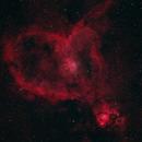 Heart Nebula (IC 1805),                                mhtandy