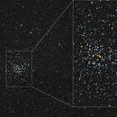 An open star cluster M37, a WF-closeup color image, CPH, Denmark,                                Niels V. Christensen