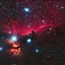 HeadHorse Nebula ,IC434,                                Keerati Komkongyou