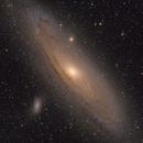 M31 - The Andromeda Galaxy - LRGB - ASI2600MC,                                Roberto Botero