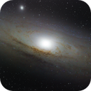 First Picture of Andromeda M31,                                Edward Sargisson