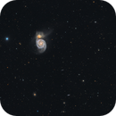 M51 - Whirlpool Galaxy,                                Elvie1