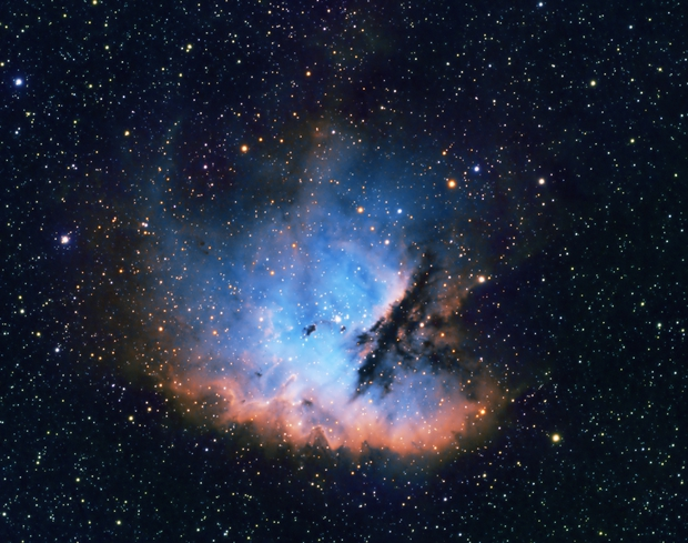 The PacMan Nebula - NGC 281,                                Trevor Gunderson