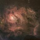 Lagoon Nebula (Messier 8, 2013),                                Miles Zhou