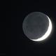Światło popielate / Crescent moon with earthshine,                                  Michal Kwieciak