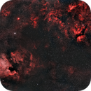 Cygnus Region over Los Angeles (4 Panel Mosaic),                                Alex Weinstein