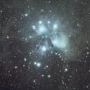 M45 Pleiades,                                Jeff Miller