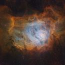 M8 Hubble Palette HiDef,                                Ignacio Diaz Bobillo