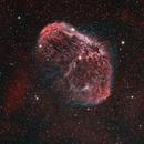 NGC 6888 - Crescent Nebula HSO,                                Mike Hislope