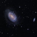 NGC 4725 and NGC 4712 in LRGB,                                David Andra