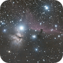 Flame and Horsehead Nebulae,                                Jared Surette
