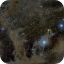 IC3104 Galaxy, Mosaic of Molecular Clouds in  Chameleon with Dust Clouds and Reflection Nebulas.,                                oldwexi