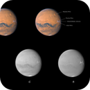 Mars - 08.09.2020 - RGB channels comparasion,                                Łukasz Sujka