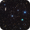 M97 Owl Nebula and M108,                    hbastro
