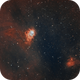 The Northern Lagoon Nebula and Wider FOV,                                  Chuck's Astrophot...