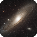 M31 Andromeda with L-PRO,                                Byron Miller