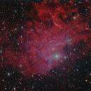 IC405 - Flaming Star Nebula,                                Barry E.