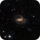 NGC 1097 from the suburbs,                                DiscoDuck