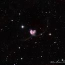 NGC4038-NGC4039 Antennae Galaxies,                                wei-hann-Lee