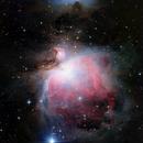 M42 HDRComposition,                                Eric Cauble