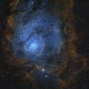 M8 - Lagoon Nebula,                                Chris Garner