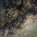 Milky Way Core - 50mm - Lagoon and Trifid,                                Mateus