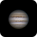 Jupiter le 12 avril 2017 à 21h58 GMT,                                Laurent3112