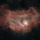 The Lagoon Nebula, M8, NGC 6523,                                Steven Bellavia