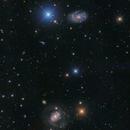 NGC 4145 and NGC 4151,                                  Toshiya Arai