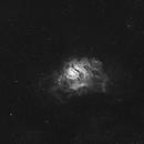 M8 Lagoon Nebula Ha,                                Mehdi Abed