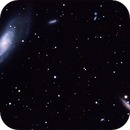 Messier 106 and NGC 4217,                                Manuel Peitsch