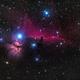 NGC2023 - Horsehead Nebula,                                Bryan He
