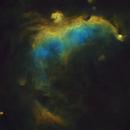 Her Soul ( IC 2177, The Seagull Nebula ),                                Reza Hakimi