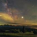 Milky Way over the Tatras,                                  Łukasz Żak