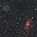 Ngc7635 & M52,                                H-x6