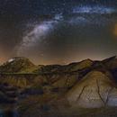 Milky Way over Bardenas Reales desert,                                Astrofotógrafos