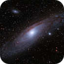 M31 - Andromeda Galaxy,                                Stephan
