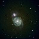 M51 Whirlpool Galaxy,                                Peter Bresler