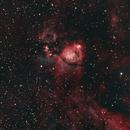 Roly-Poly Fishhead Nebula - IC 1795 in HOO,                                SoDakAstronomyNut