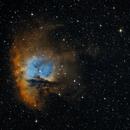NGC281 Pacman nebula HST palette,                                tomekfsx